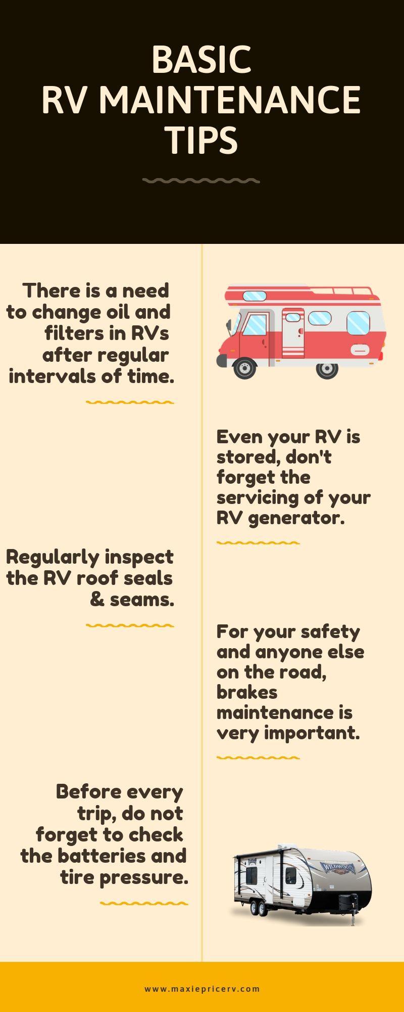 Basic rv maintenance tips rv maintenance used rvs rv