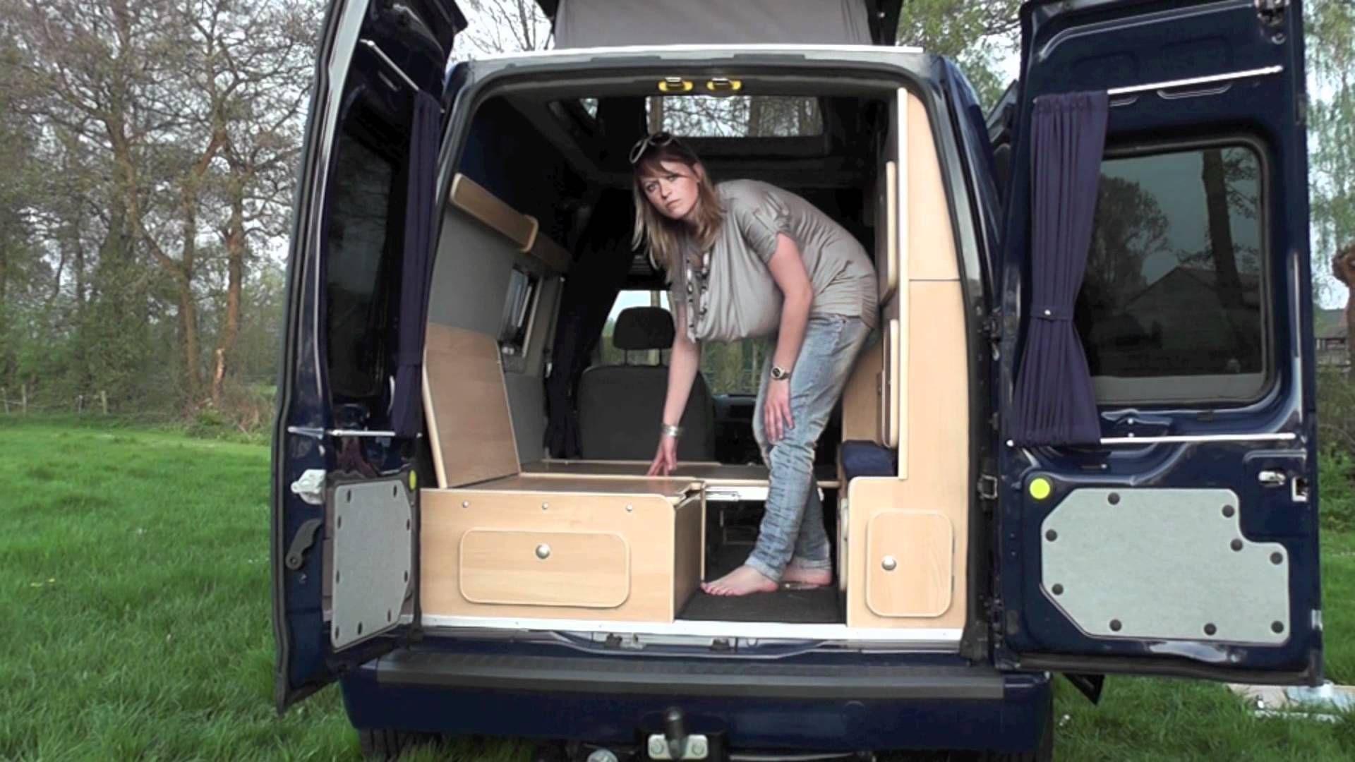 Mercedes Sprinter Kamper >> Demonstration of MiniCamper By JB Kampeerauto's | Travel | Pinterest | Camper conversion ...
