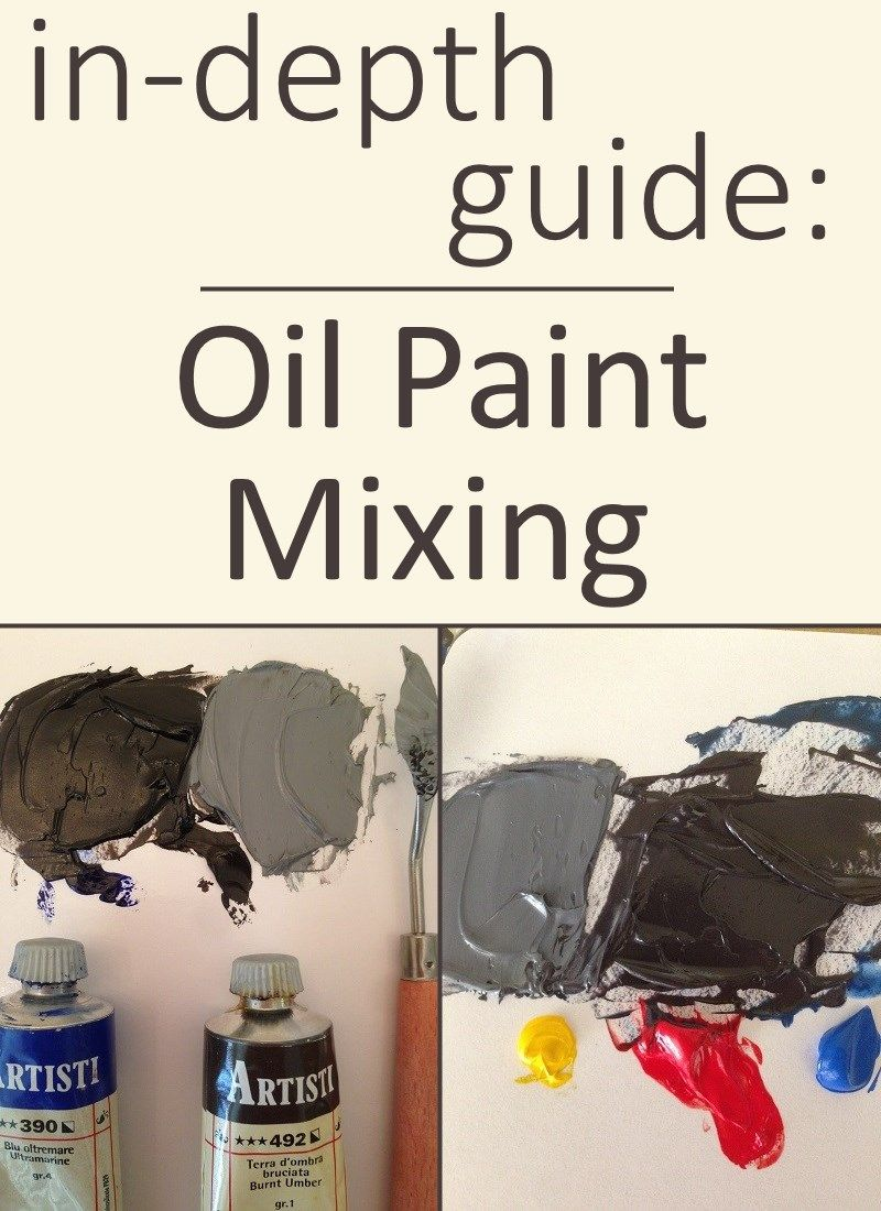 Beginner S Guide For Oil Painting Including Oil Paints