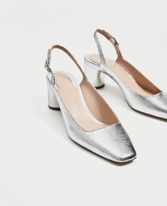 En Plateado Silver Tacón Zapato ShoesShoes 2019Fashion Medio T3FKlc1J