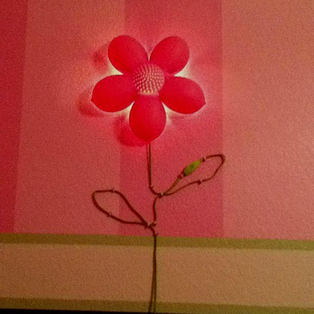 Ikea wall flower light super cute cute pinterest ikea wall flower light super cute mozeypictures Gallery