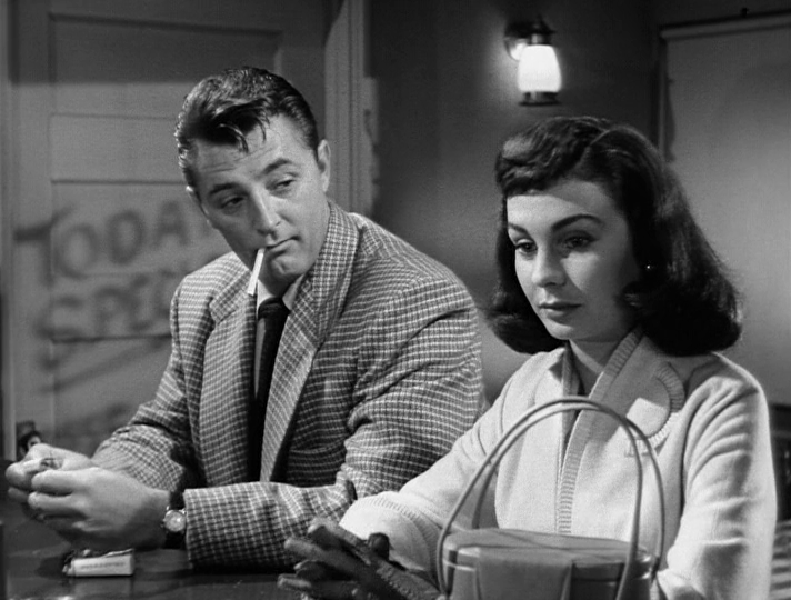 """Robert Mitchum And Jean Simmons. """"Angel Face"""" (1952), Otto"""