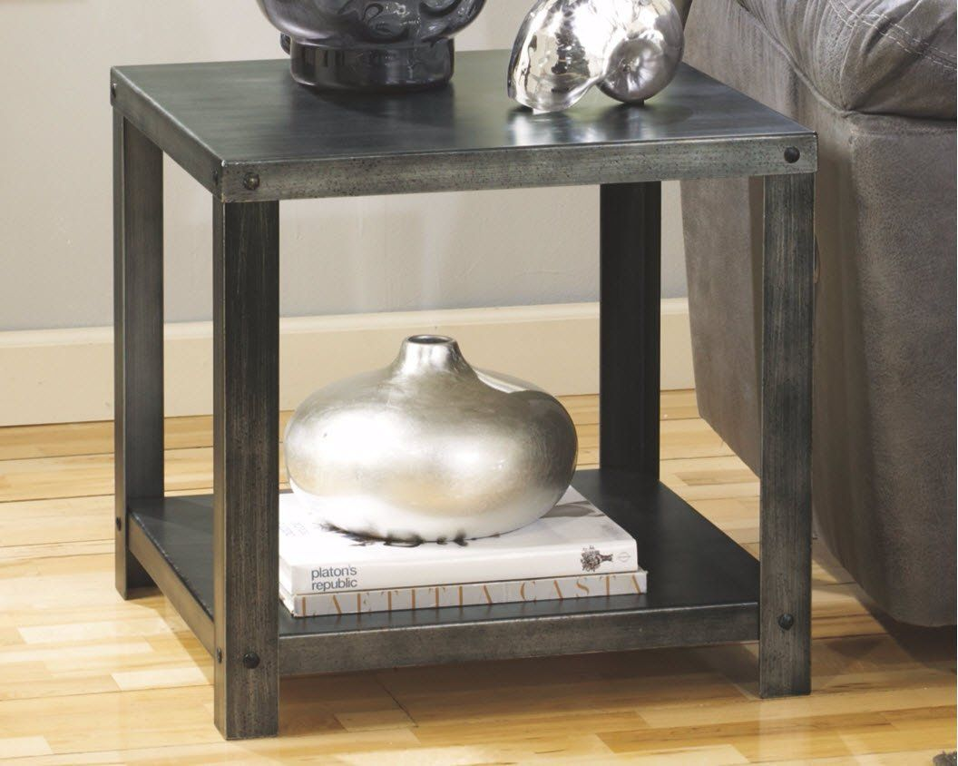 Ashley Furniture Signature Design Hattney Contemporary End Table