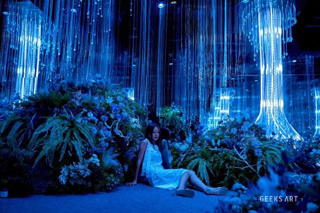 上海喜玛拉雅美术馆 每当星辰变幻时新媒体艺术展 数字展示在线 aquarium