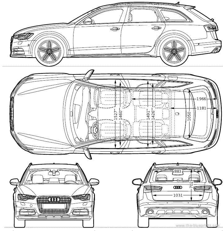 Audi a6 allroad quattrio 2013 car design pinterest - Voiture 3d dwg ...