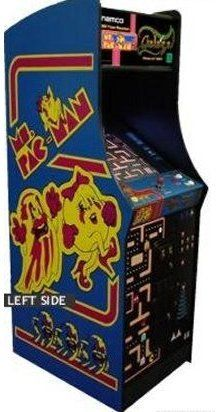 Rent a pac man game for the reception.