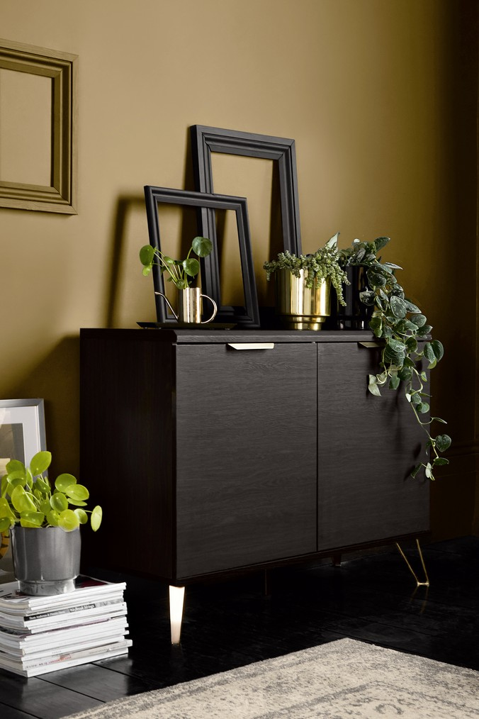 Next Venetia Small Sideboard Black Living Room Furniture Chairs Living Room Furniture Furniture