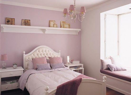 Habitacion estilo romantica buscar con google - Dormitorios infantiles de nina ...