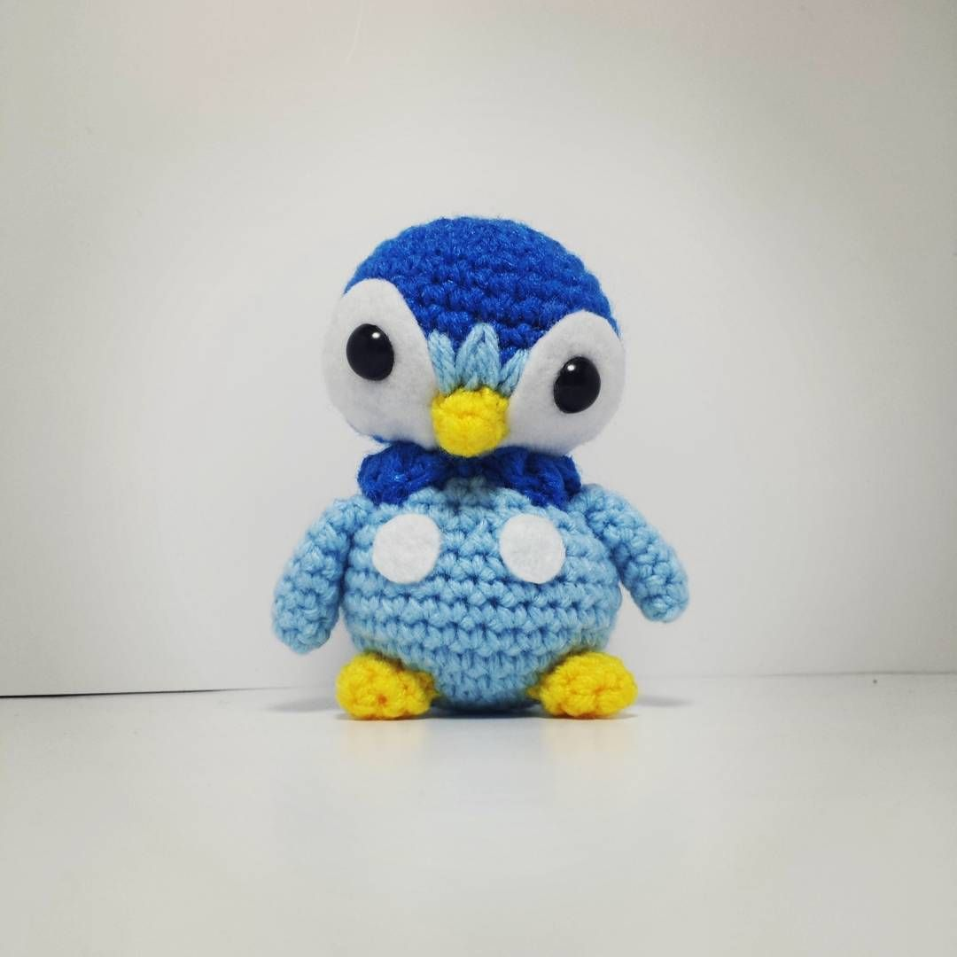 Piplup! #crochet #amigurumi #pokemon #piplup | K Hook Creations ...