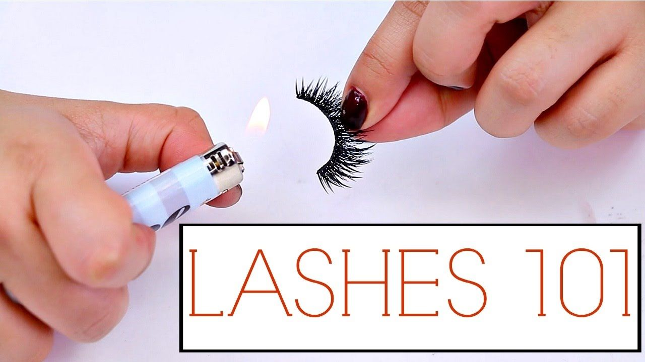 False Lashes Tips And Tricks For Beginners!   The how to ...