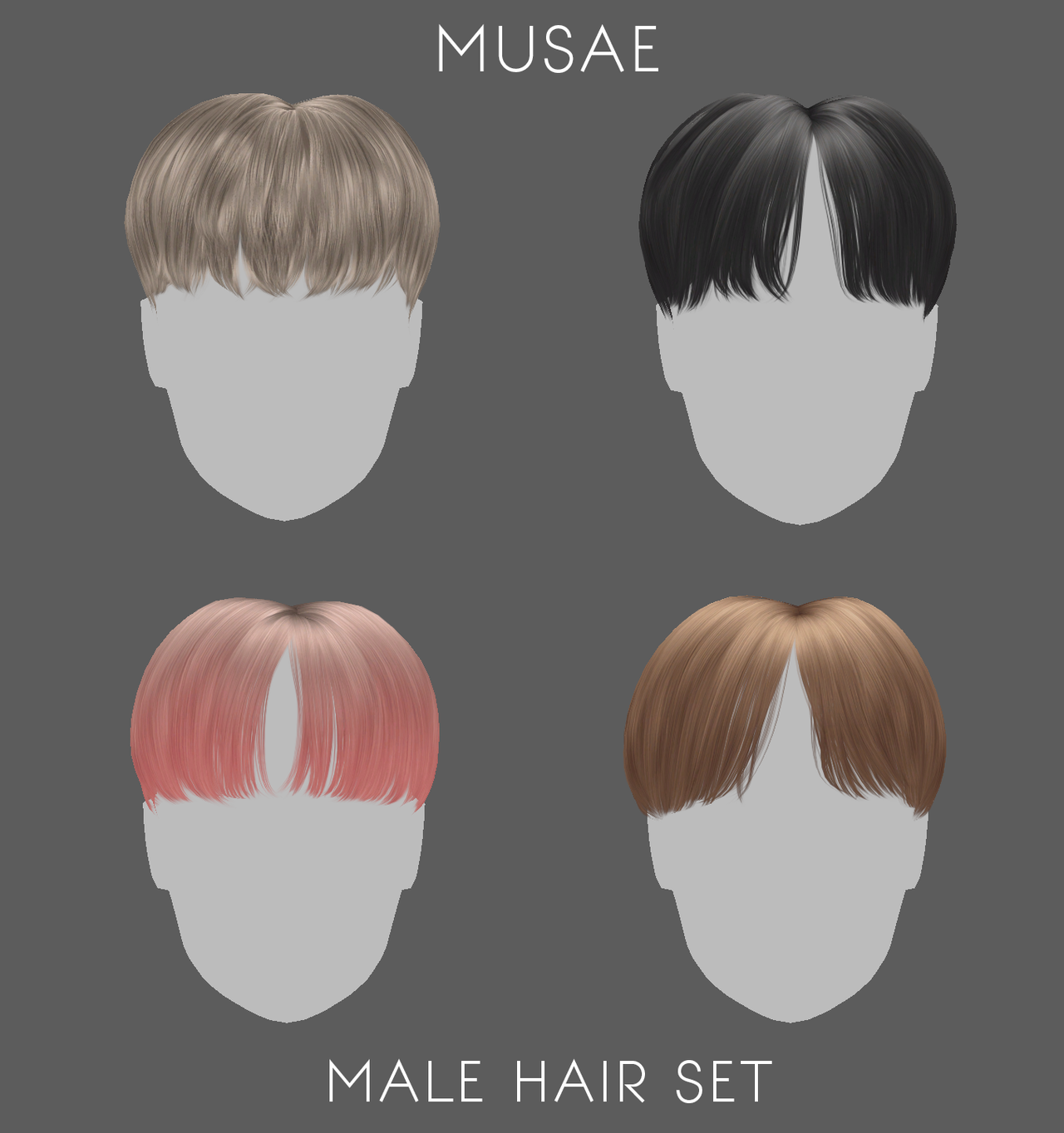 Png Male Hair By Moonglowlilly Mens Hairstyles Hair Png Photoshop Hair