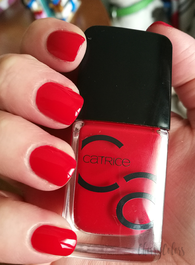 Catrice Iconails It S All About That Red Gel Nail Polish Polishes Nails