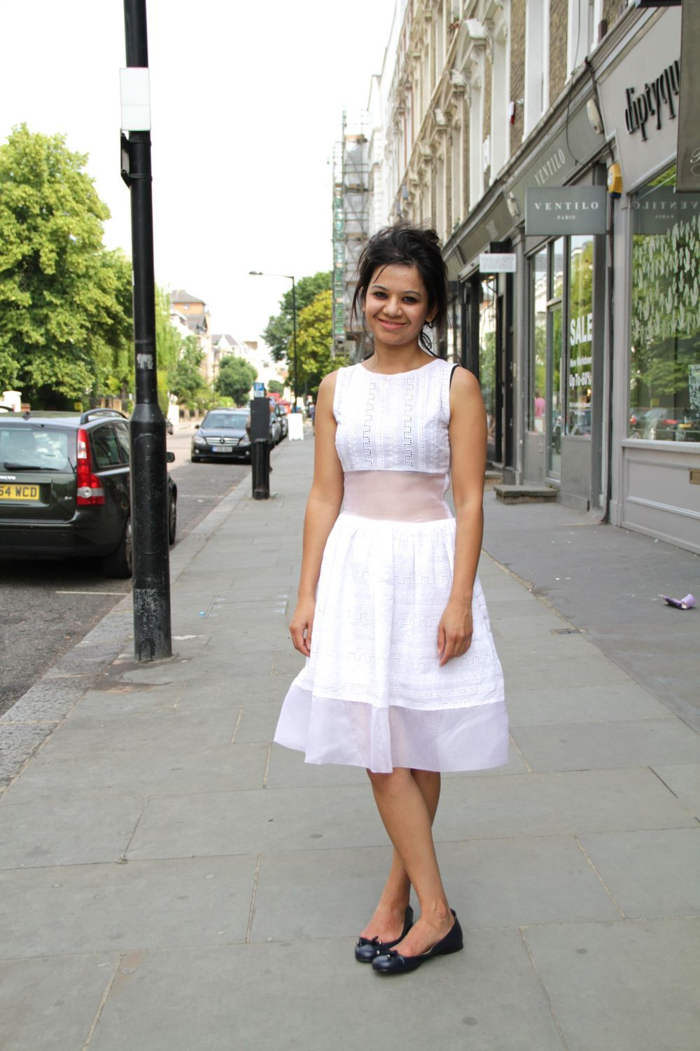 It doesn't get more summery than a white dress.