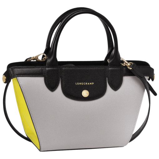 Sac porté main S - Le Pliage Héritage Tricolore - Sacs - Longchamp -  Écru Noir Naturel - Longchamp France ba7bd7f667a