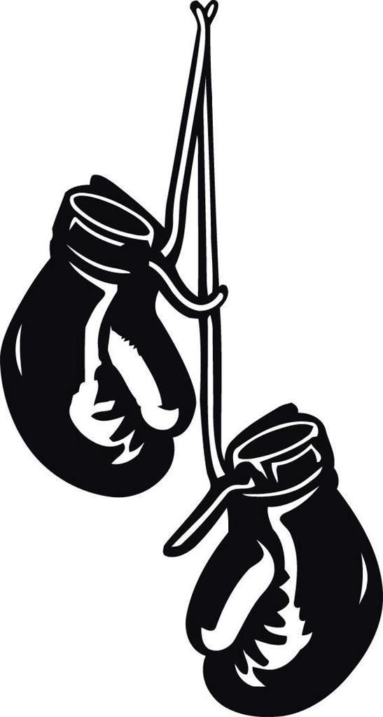 14 99 Boxing Gloves Hanging Decal Wall Sticker Home