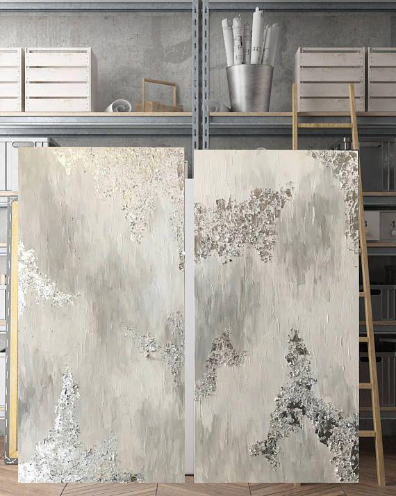 Pinturas de hoja de oro personalizables - cualquier color plata o ...