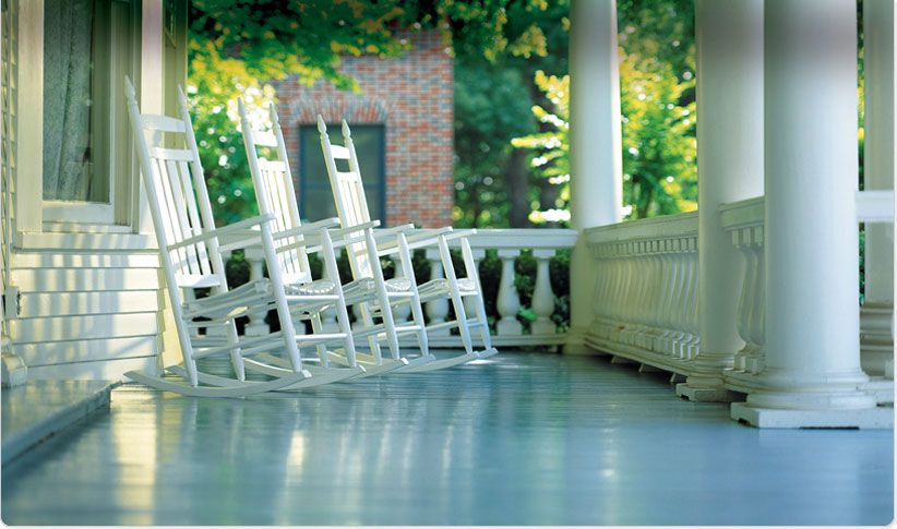 Love The Look Of Painted Decks And Porches Just Be