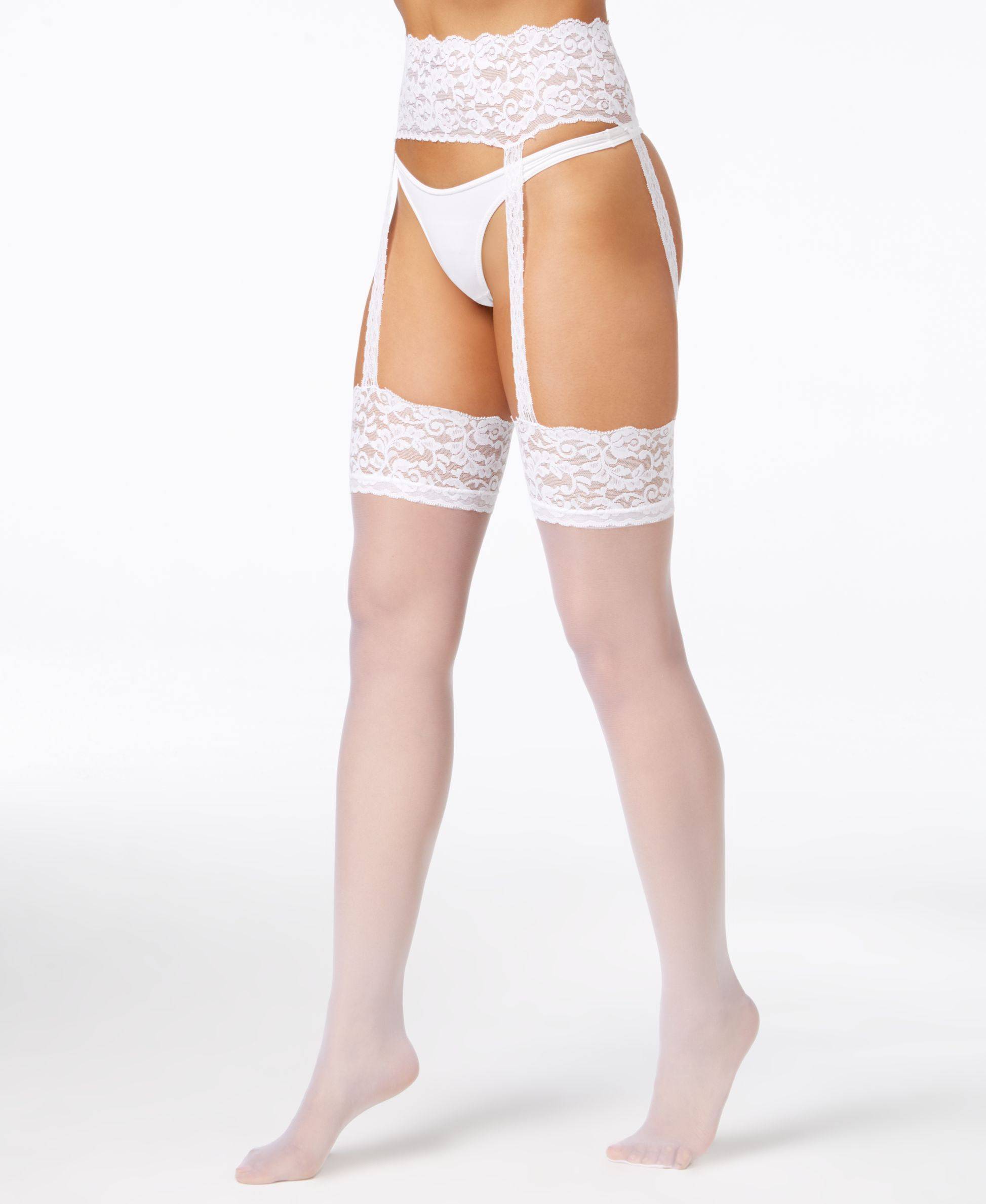 207efbc4b8568 Berkshire Sheer Hosiery, Lace Garter and Stockings - Handbags & Accessories  - Macy's