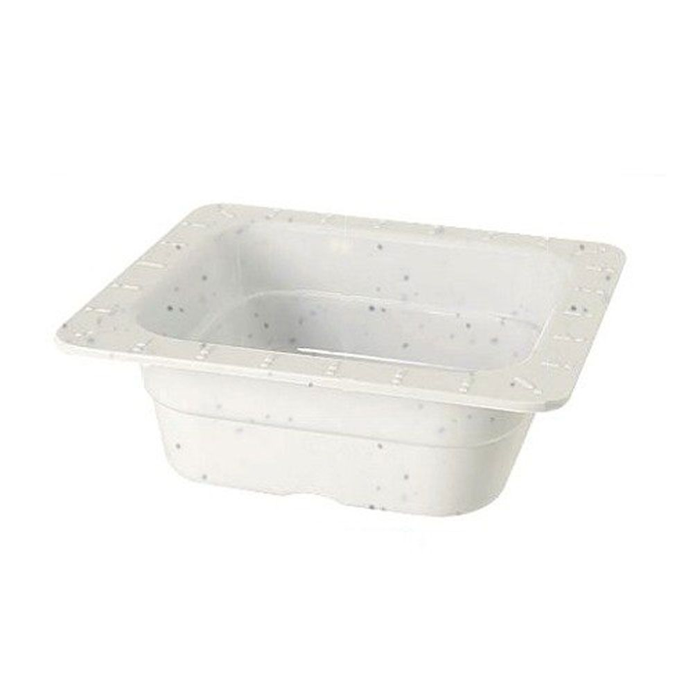 Gn Melamine Food Pans Sixth Size Insert Pan 2 5 Inch Deep Ivory Food Storage Containers Steel Restaurant Restaurant Supplies