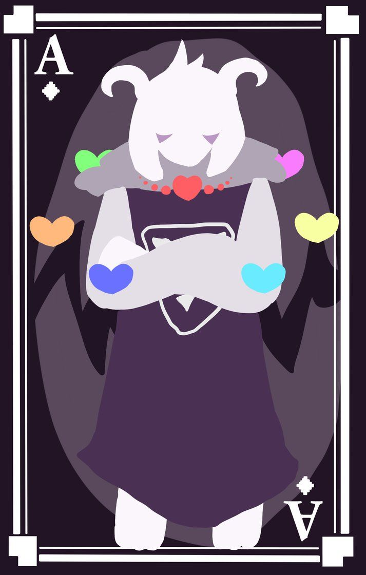 Asriel Dreemurr, Ace of Diamonds