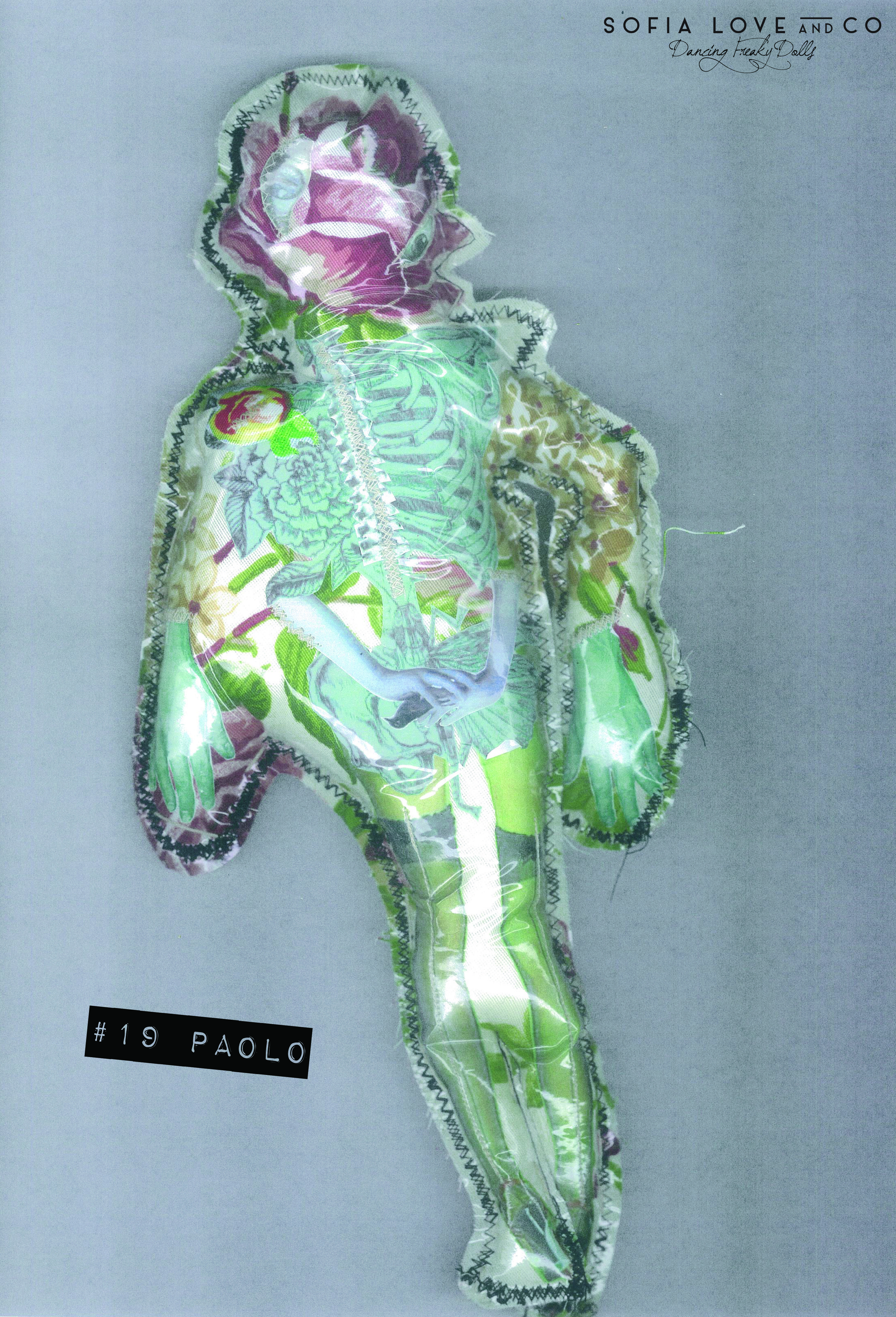 BAR* #19 PaoloThis is a fotocopy, Paolo is a single piece. Independent Arts Label 2014