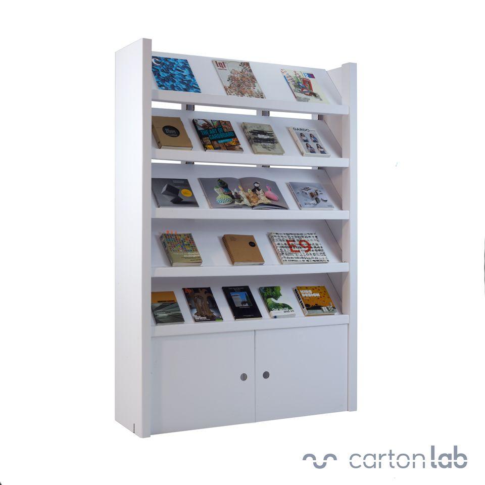 Expositor para publicaciones | Organización de libros, Revisteros y ...