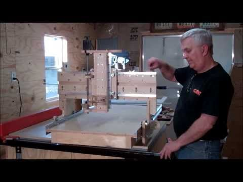 How to Build a CNC Router On A Shoestring Budget Part Five - YouTube