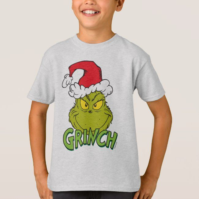 Classic The Grinch | Naughty or Nice T-Shirt #dr #seuss #the #grinch #how #TShirt
