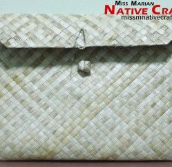 Eco Friendly Pandan Envelope Native Products Supplier Native