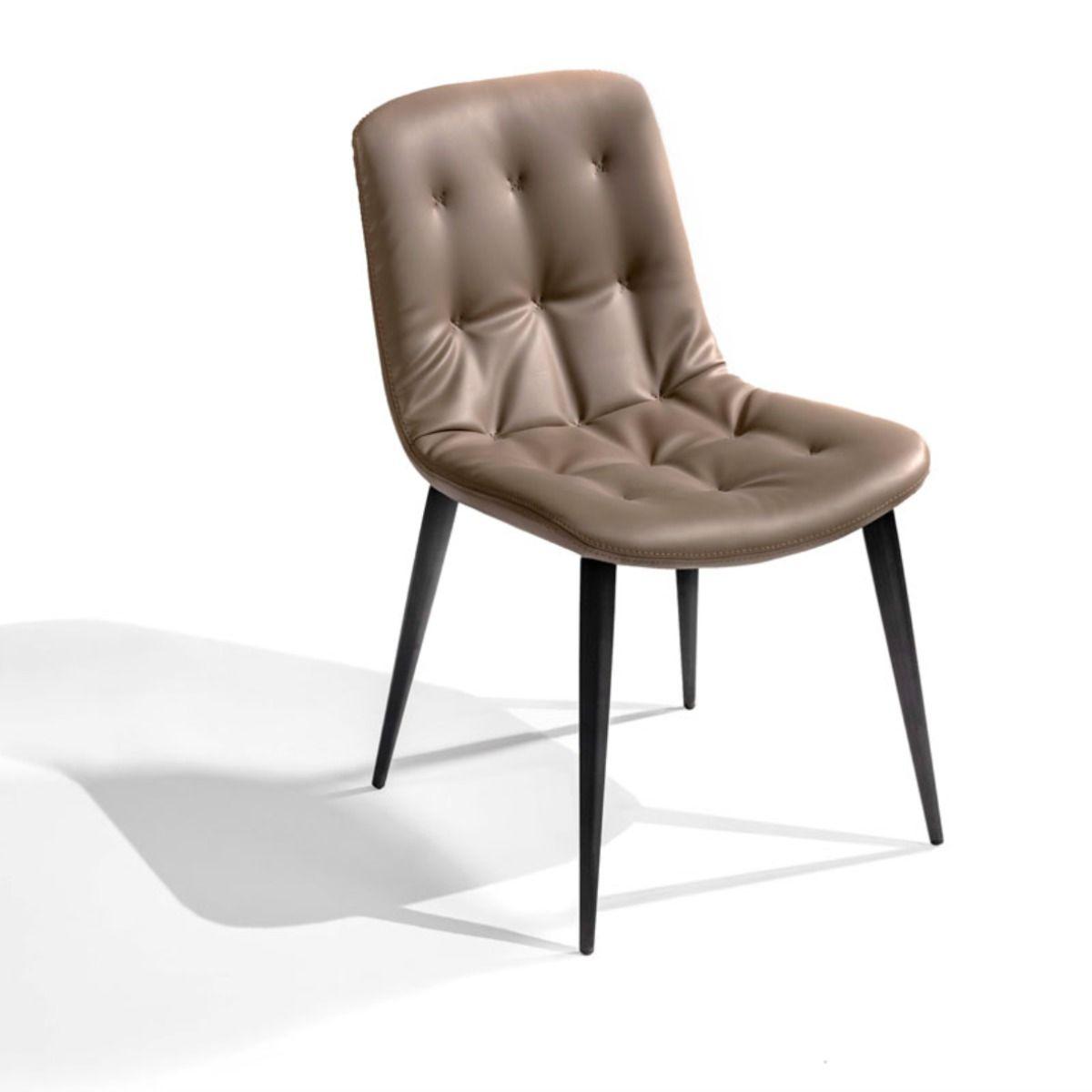 Gdc788 Chaise Confortable En Simili Cuir Coloris Beige In 2020