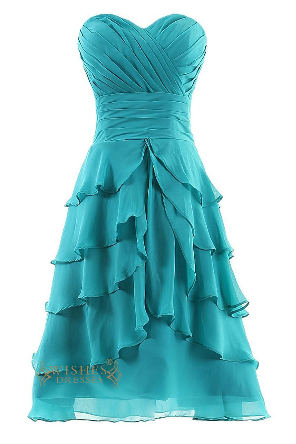 A-line Short Bridesmaid Dresses Am60 | Short homecoming dresses ...
