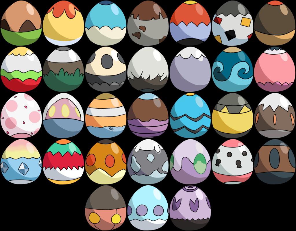 Картинка яйца покемона