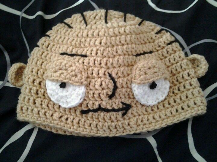 Stewie Griffin Hat   My Crochet Creations   Crochet hats ...