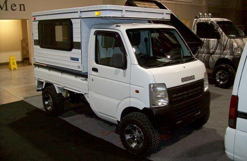 Suzuki K Truck Camper