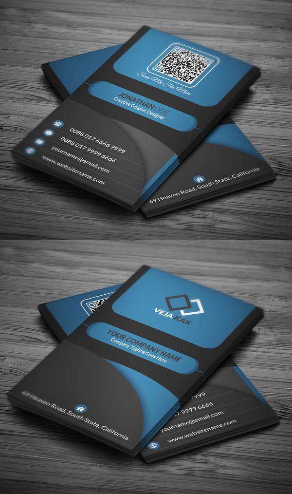 Modern Creative Business Card Template | Card ***** | Pinterest ...