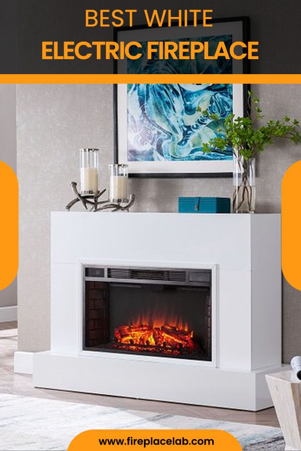 46 White Electric Fireplaces Ideas White Electric Fireplace Electric Fireplace Fireplace