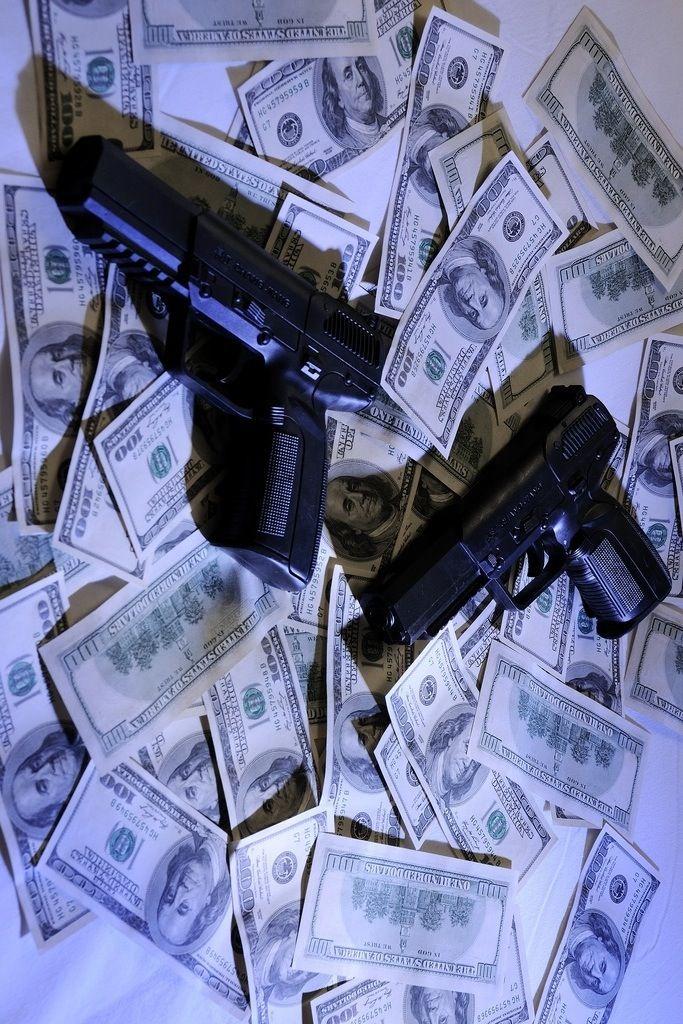 Guns And Money Wallpaper : money, wallpaper, Money