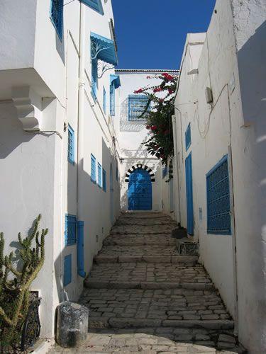 Sidi Bou Said Tunez Places To Go Tunisia Places Around The World