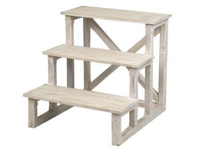 Scaletta Sgabello ~ Sgabello legno retrattile scaletta scala gradini sgabello