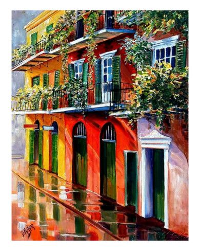 9fa27d3041c Sunshine In The French Quarter Giclee Print by Diane Millsap at  AllPosters.com
