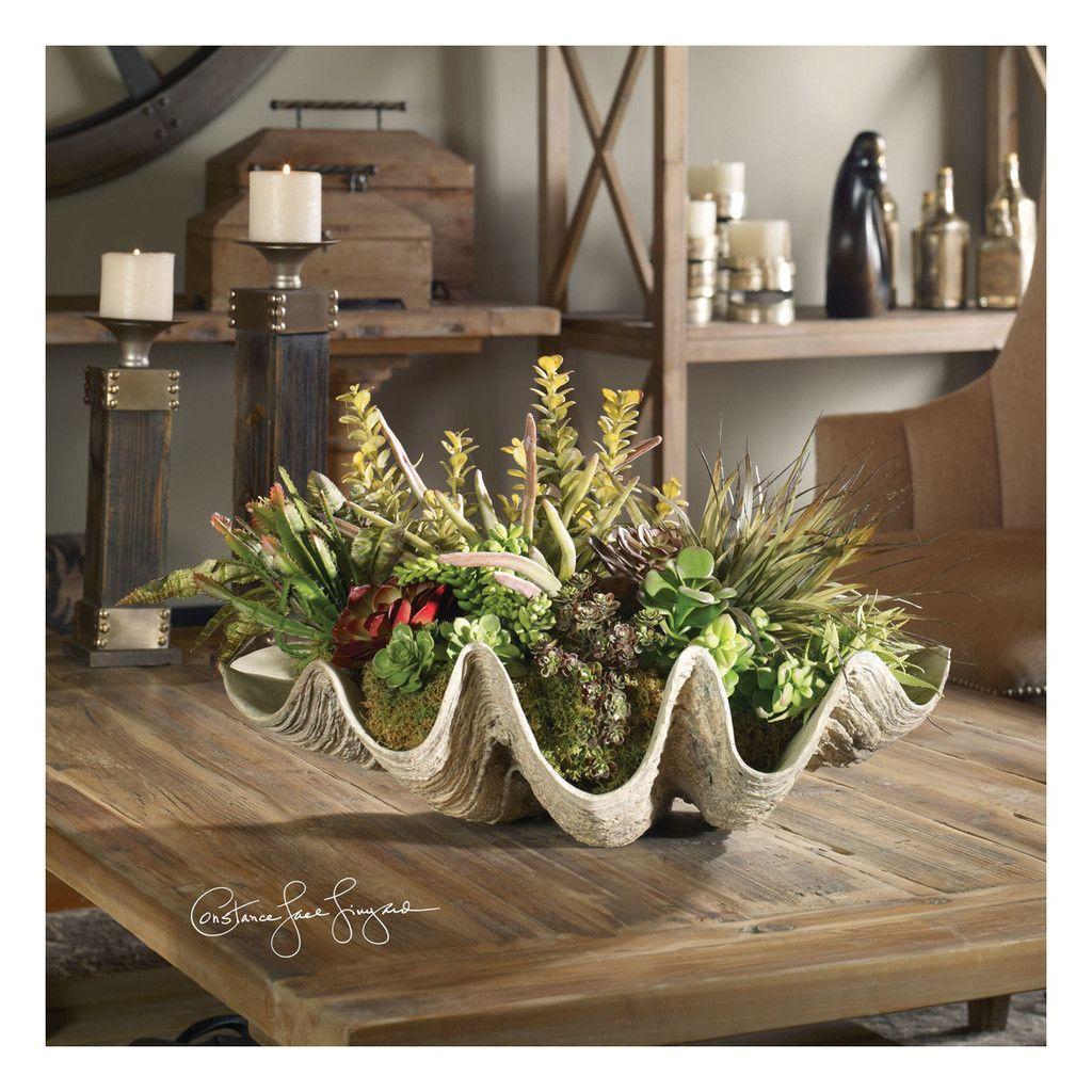 Sea Coast Succulents Artificial Plants Modern Flower