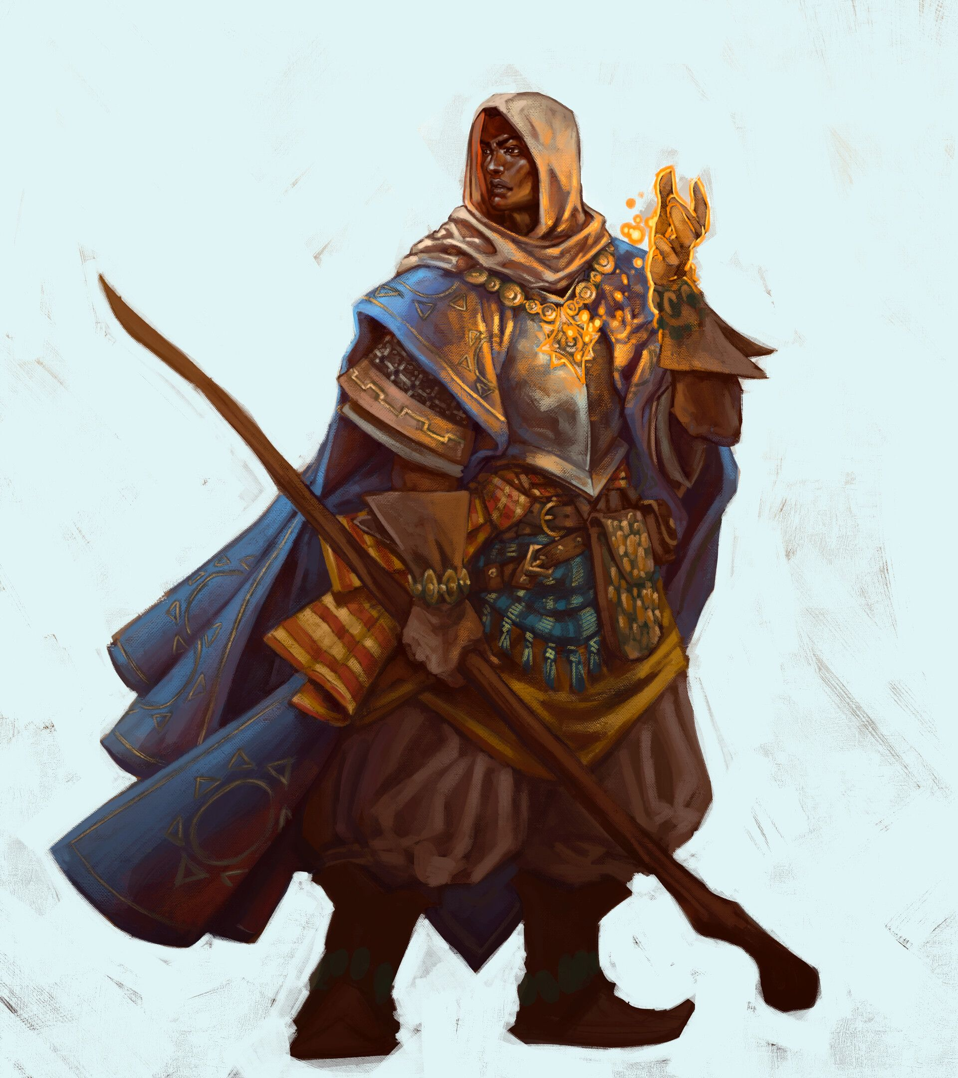 Cleric Life Domain By Bruno Machadoanother D Amp D Character Commission Dario The Life Domain Cle Character Art Roleplay Characters Fantasy Character Design