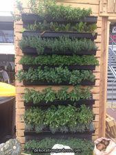 7 Top-Ideen für Ihren vertikalen Gemüsegarten 7 Top-Ideen für Ihren vertikalen #senkrechtangelegtekräutergärten