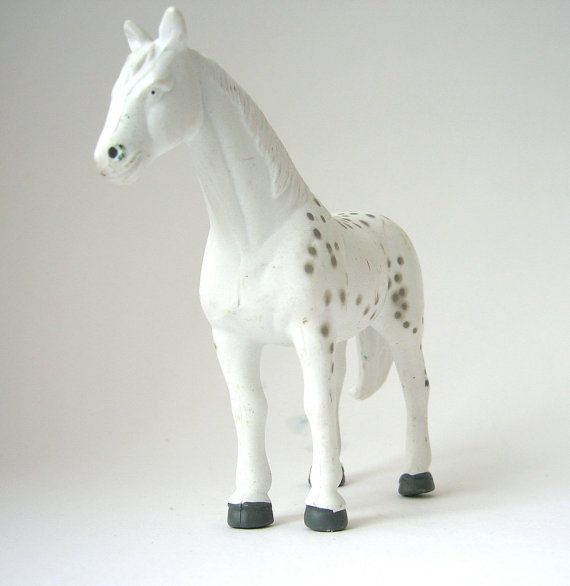 Vintage Irish Horse  miniature sandplay plastic by RememberThat1