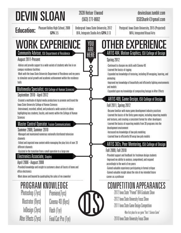 Bilderesultat for games studio creative CV CV ideas Pinterest