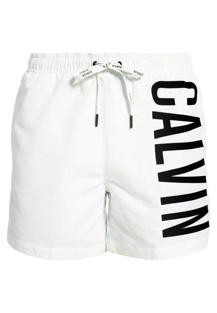 d9c9c49411c Calvin #Klein #Swimwear #INTENSE #POWER #Badeshorts #white/black für ...