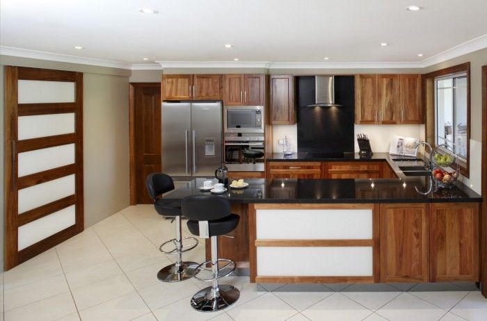 solid blackwood kitchen | sydney timber kitchens | pinterest