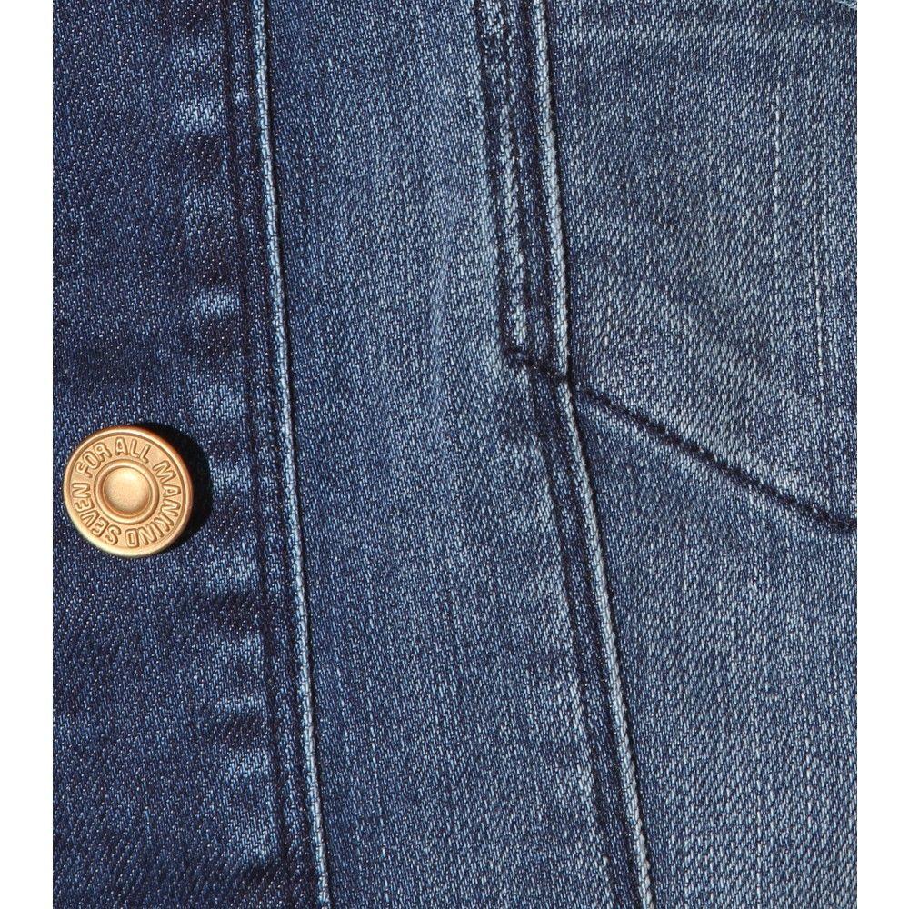denim jacket detail - Google Search