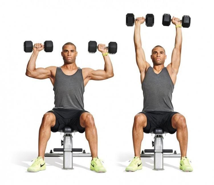 Ejercicios caseros para pecho y biceps