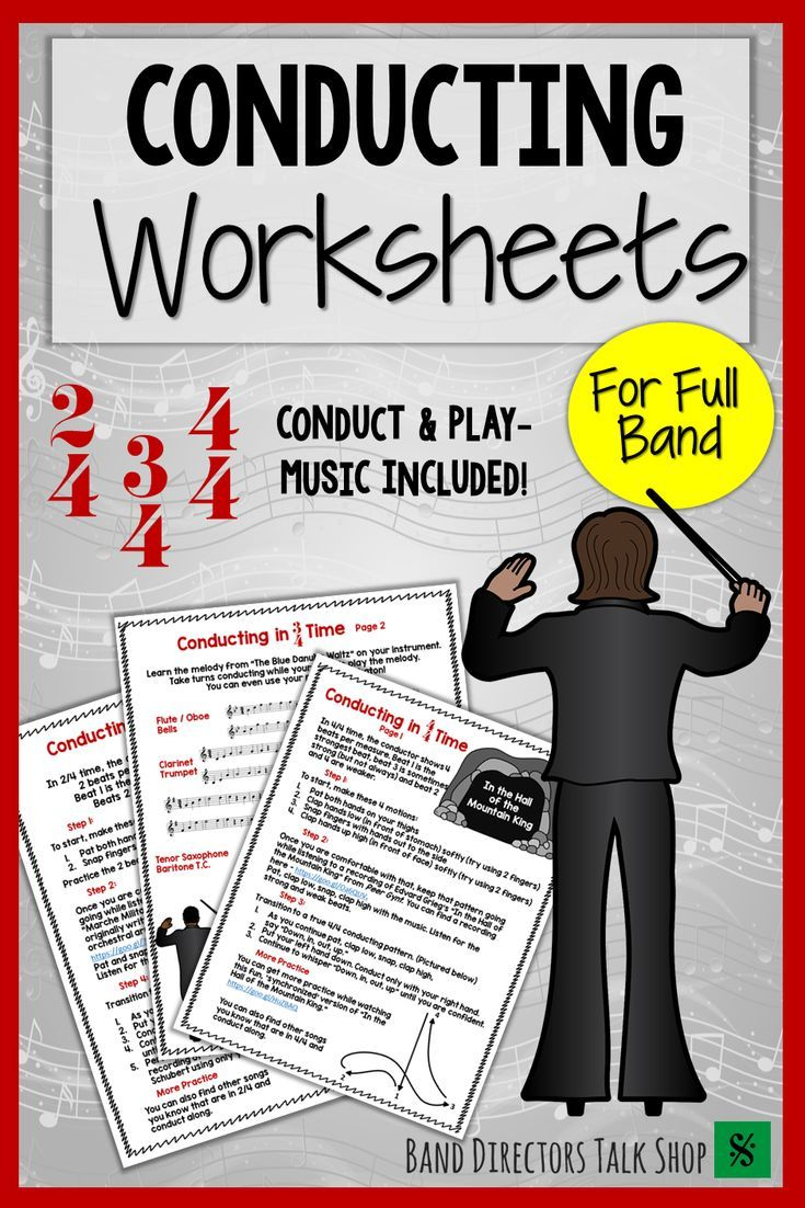 worksheet Beginning Band Worksheets music conducting and time signature worksheets for beginning band
